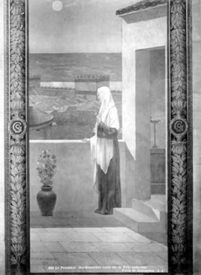 Pintura El Panteón, Puvis de Chavannes