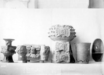 Cerámica prehispánica de la cultura zapoteca
