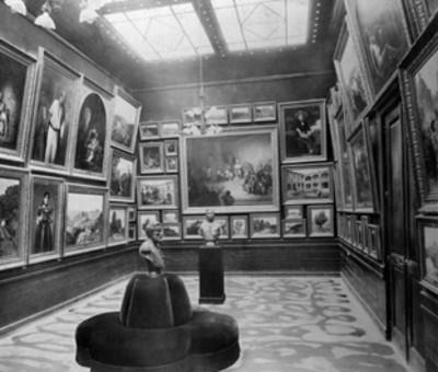 Galeria de pinturas de José María Velasco