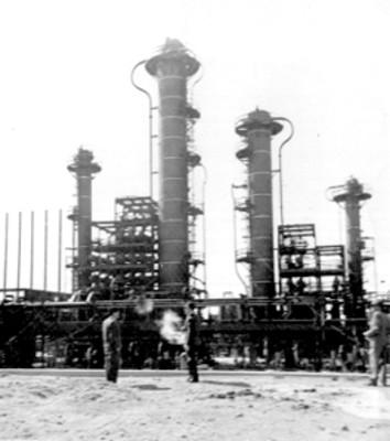 Planta para la industrialización petrolera