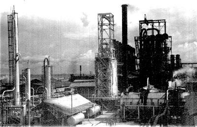 Refineria y depósitos petroleros de PEMEX
