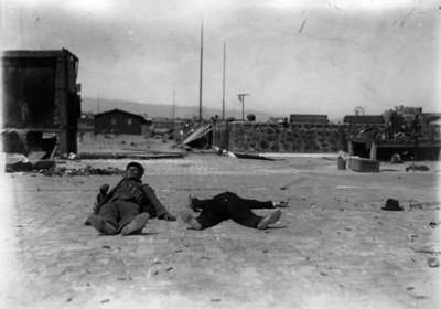 Felicistas muertos en la ciudadela