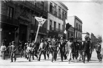 Última manifestacion Maderista