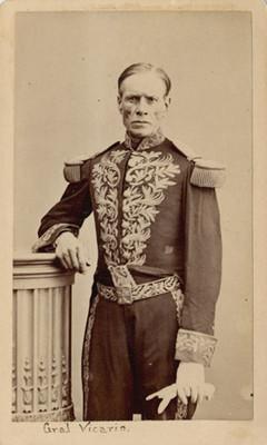 Juan Vicario, retrato