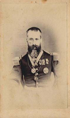 """Gral. Leonardo Márquez"", el Tigre de Tacubaya, tarjeta de visita"