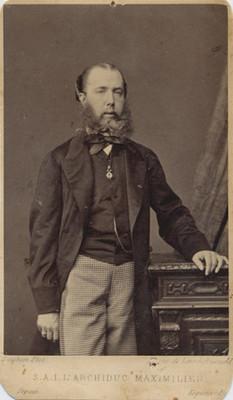 """Maximiliano de Habsburgo, """"Archiduc Maximilien"""", retrato"""