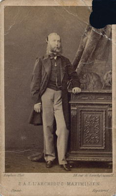 "Maximiliano de Habsburgo, ""Archiduc Maximilien"""