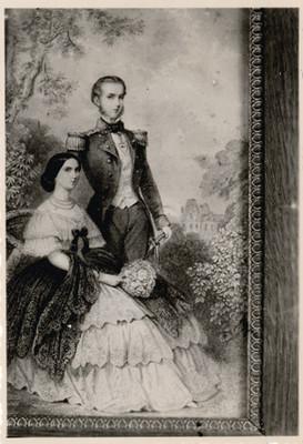 Maximiliano y Carlota, reprografía