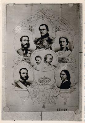 Familia real de Bélgica, pintura