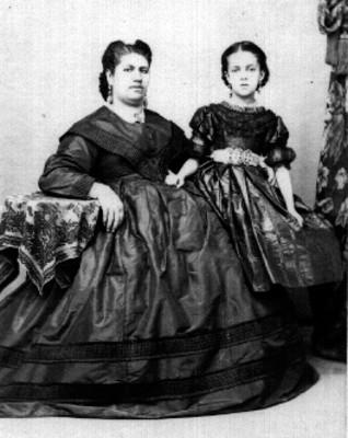 Madre e hija, retrato
