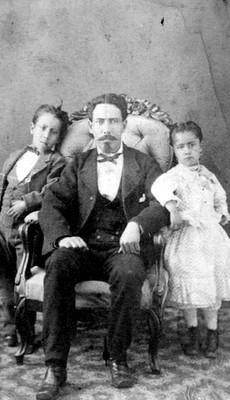 Mariano García e hijos