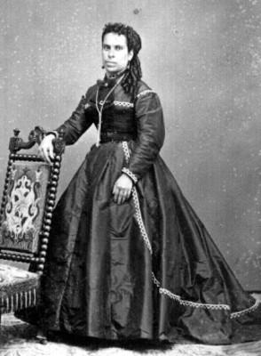 """""""Clotilde M. y Télles"""", tarjeta de visita"""