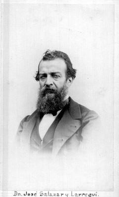 """""""José Salazar y Larregui"""", retrato"""