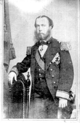 Maximiliano de Habsburgo, emperador, tarjeta de visita