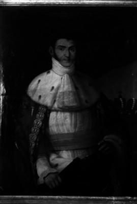 Agustín de Iturbide, emperador de México, retrato