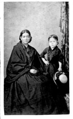 Retrato de Mujer y niña