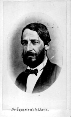 """""""Sr. Ignacio de la Llave"""", tarjeta de visita"""