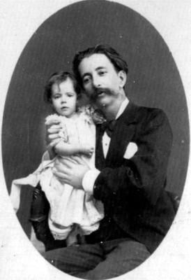 Padre e hija, retrato