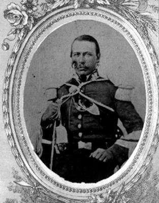 """""""Miguel López, Coronel imperialista"""", tarjeta de visita"""