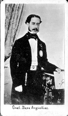 """""""Coronel Daza Argüelles"""", tarjeta de visita"""