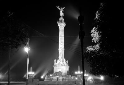 Columna de la Independencia, vista frontal