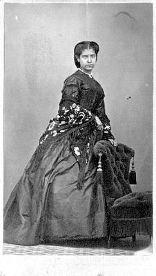 Retrato en primer plano de una mujer