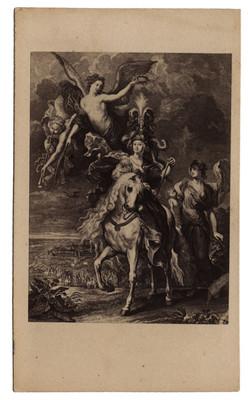 El triunfo de María de Medicis en Juliers de Rubens, reprografía