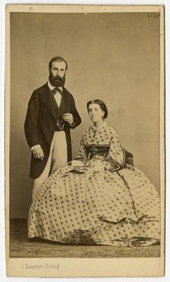 """Margarita """"de Torreblanca"""" y su esposo """"Sancho"""", retrato"""