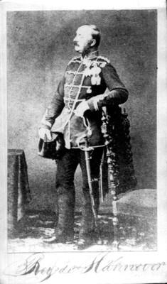 "Jorge V ""Rey de Hannover"", tarjeta de visita"