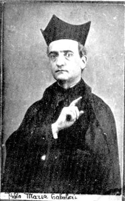"""""""Pablo Maria Gabalieri"""", retrato"""