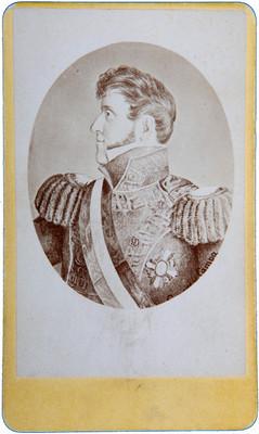 Agustin de Yturbide y Aramburo, retrato