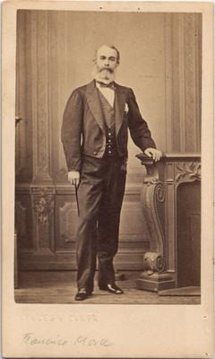 D. Francisco Mora. Ymperio, retrato