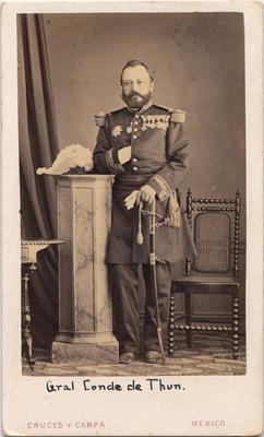 Gral. Conde de Thun, retrato