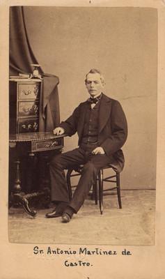 Antonio Martínez de Castro, retrato