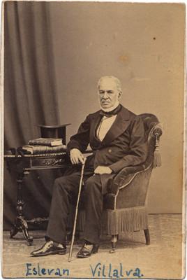 Estevan Villalva, retrato