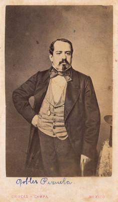 Gral. Manuel Robles Pezuela, retrato