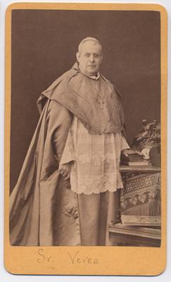 Sr. Verea. Obispo de Puebla, retrato