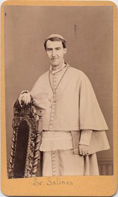 Sr. Vicente Salinas. Obispo de Durango, retrato