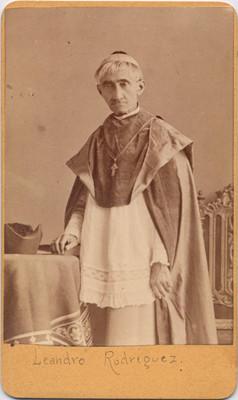Leandro Rodríguez. Obispo de Yucatán, retrato