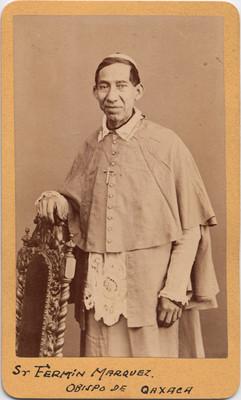 Sr. Fermín Márquez. Obispo de Oaxaca, retrato
