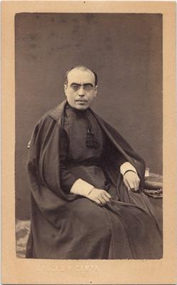 S. Loría Canónigo de Querétaro, retrato