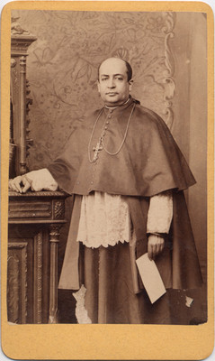 Montes de Oca. Obispo de San Luis Potosí, retrato