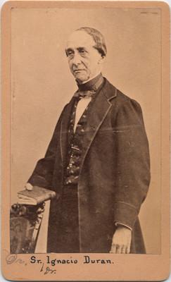 Dr. Ignacio Durán, retrato