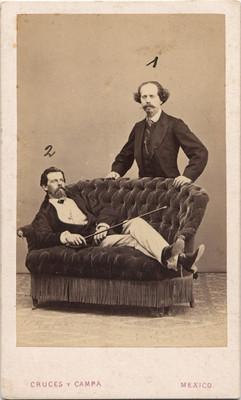 Pedro Valle y José Rincón Gallardo, retrato