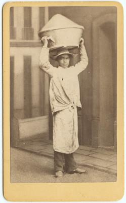 Vendedor de manteca, retrato