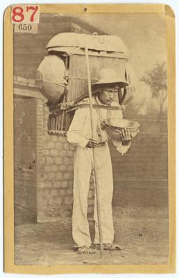 Vendedor de cazuelas, retrato