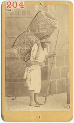 Vendedor de petates, retrato