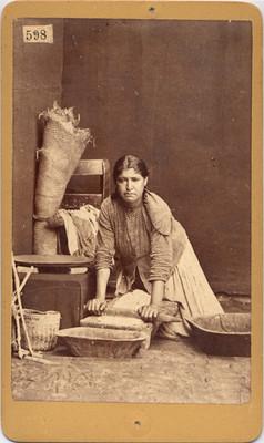 Tortillera, retrato