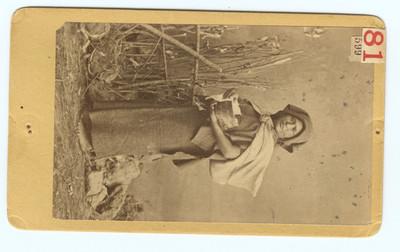 Vendedora de tortillas, retrato