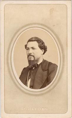 Jesús González Ortega, militar, retrato